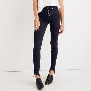 """9"""" Mid-Rise Skinny Jeans in Berkeley Black"""